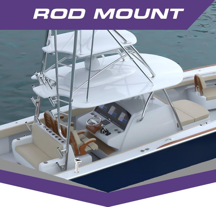PYTHON Rod Mount