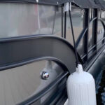 TYING OFF FENDERS MADE EASY WITH PYTHON FENDER HANGERS