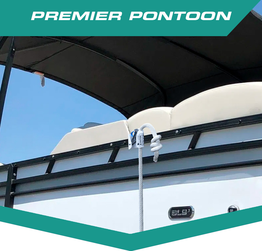 Premier Pontoon Fender Hanger